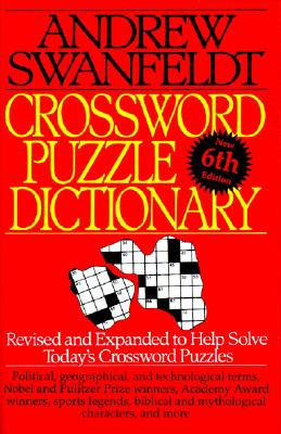 Crossword Puzzle Dictionary By Swanfeldt, Andrew